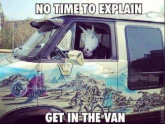 Dont get in the van